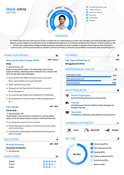 resume template two